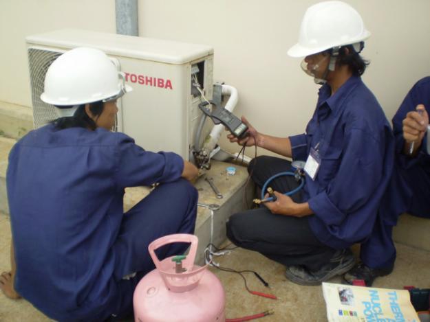 Chuyên nạp gas điều hòa tại Quận Ba Đình 0948 071 456